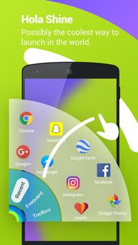 Hola Launcher- Theme,Wallpaper apk screenshot