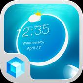 Jellyfish Hola 3D Theme icon