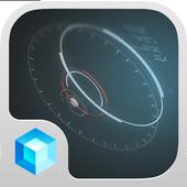 Spaceship Hola 3D Theme icon