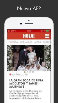 ¡HOLA! ESPAÑA Sitio web poster