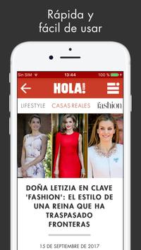 ¡HOLA! ESPAÑA Sitio web apk screenshot