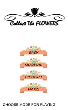 Collect The FLOWERS poster