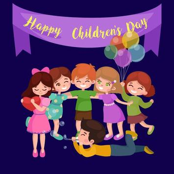 Children's Day Greeting Cards poster