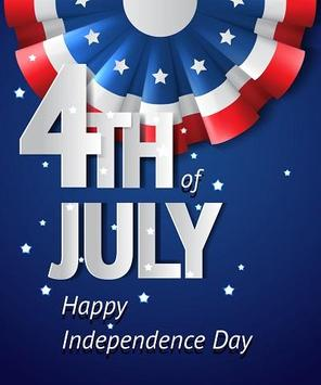 Independence Day Greeting Cards (USA) poster