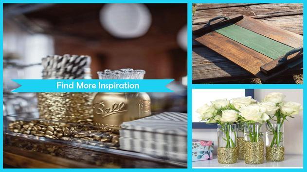 Creative DIY Glitter Striped Tray screenshot 4