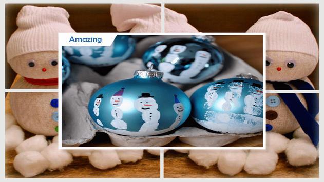 Easy DIY Egg Snowman Craft screenshot 3