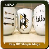 Easy DIY Sharpie Mugs icon