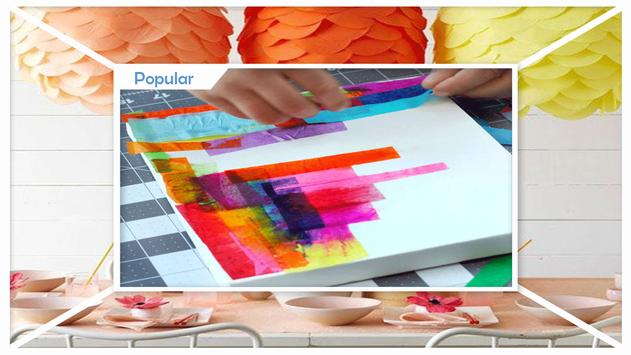 Easy DIY Tissue Paper Windsock Craft screenshot 1