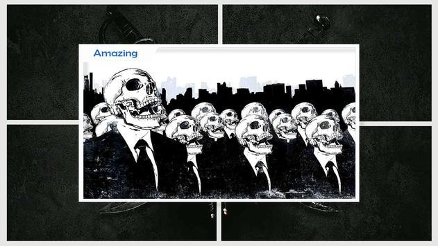 Skulls Live Wallpaper HD apk screenshot