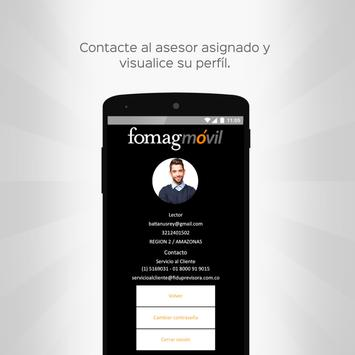 Fomag Móvil screenshot 1