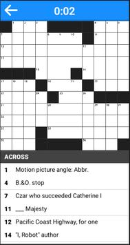 Crossword apk screenshot