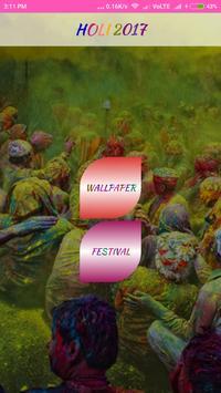 Holi Wallpaper poster