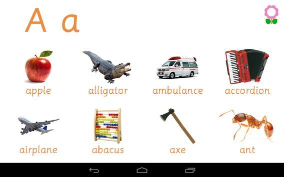 Alphabets Vocabulary Book screenshot 10
