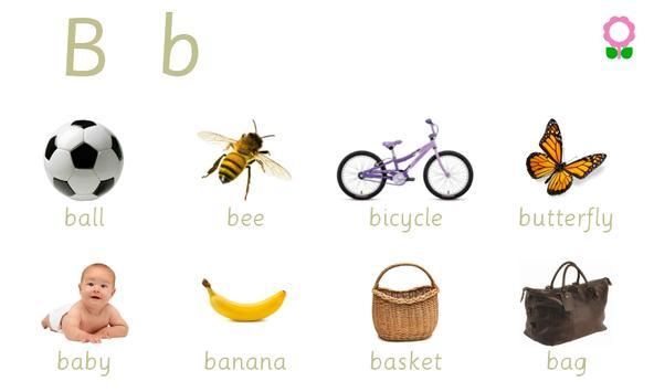 Alphabets Vocabulary Book screenshot 1