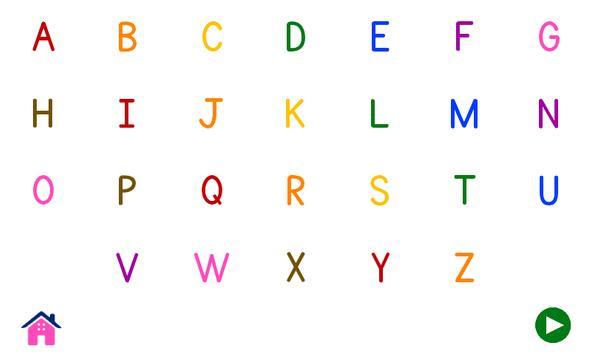Alphabets Vocabulary Book screenshot 4