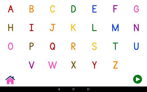 Alphabets Vocabulary Book screenshot 9
