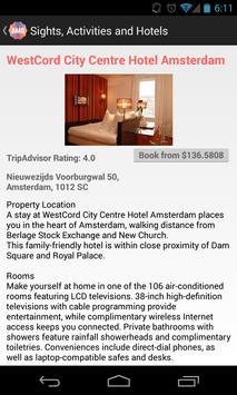 Holidayen Amsterdam Guide apk screenshot