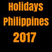 Holidays Philippines 2017 icon