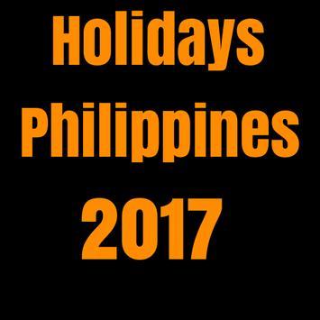 Holidays Philippines 2017 screenshot 1