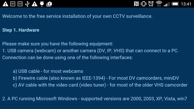 CCTV security monitoring free screenshot 3