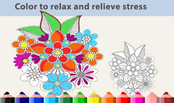 Mandala Coloring Book Happy 2018 Apk Screenshot