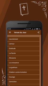 French Bible apk screenshot