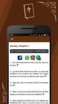 French Bible screenshot 5