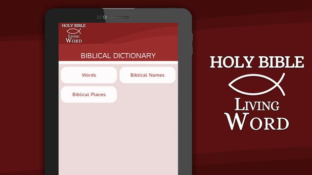 Holy Bible the Living Word apk screenshot