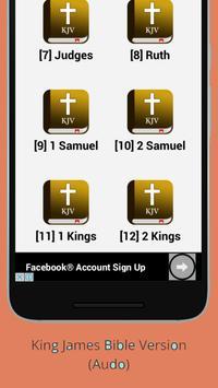 Bible KJV Free audio screenshot 1