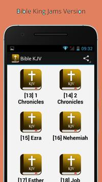 Bible KJV Free audio screenshot 4