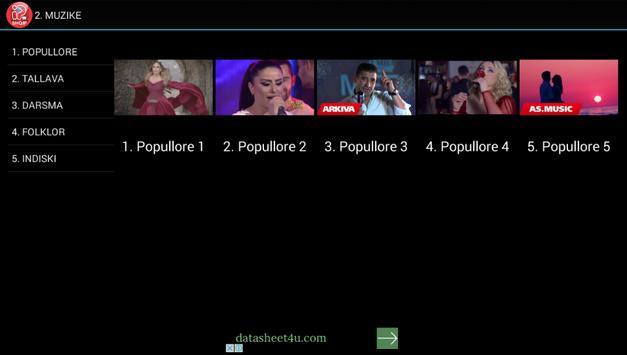 Schermata apk IPTV Shqip