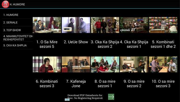 IPTV Shqip captura de pantalla 5