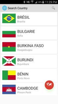 Countries of the world screenshot 1