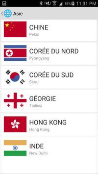 Countries of the world screenshot 4