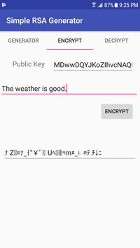 Simple RSA Generator for Android - APK Download