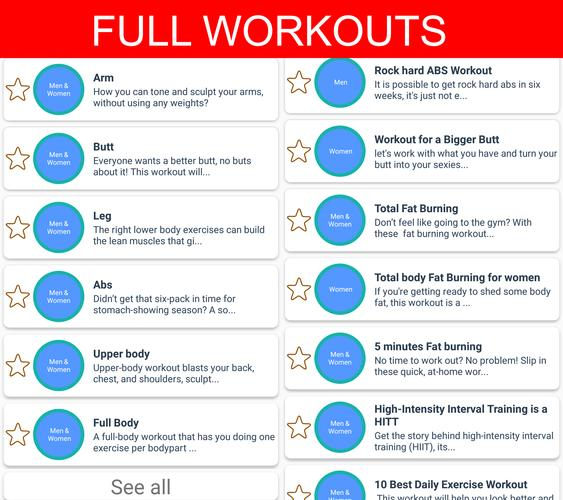 Home Workouts No Equipment For Android Apk Download