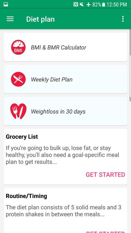 Free weight loss diets plans