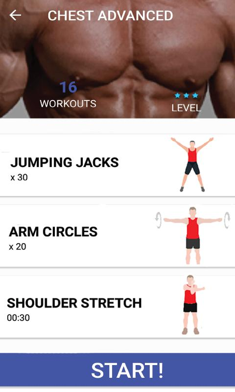 Manfit Bodybuilding Workout Home With No Equipment For Android Apk Download