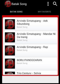 Batak Song screenshot 2