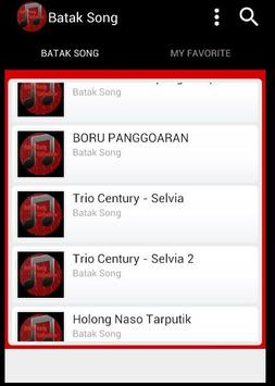 Batak Song screenshot 3