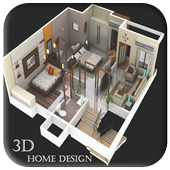 3D Home Design icon
