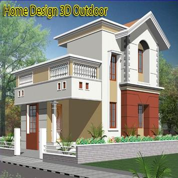 Home Design 3D Outdoor poster