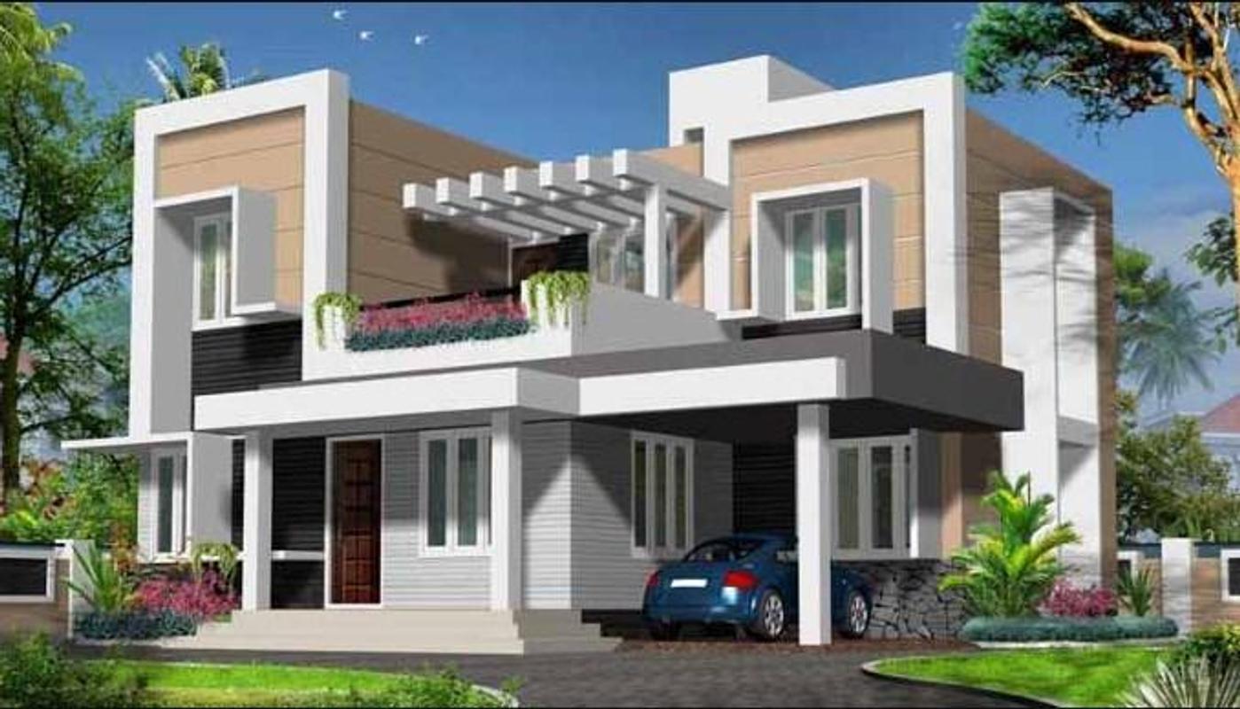 Desain rumah 3d outdoor screenshot 2