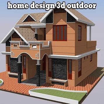Home Design 3D Outdoor poster