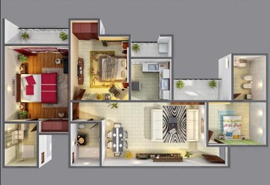 3d Home Designs poster