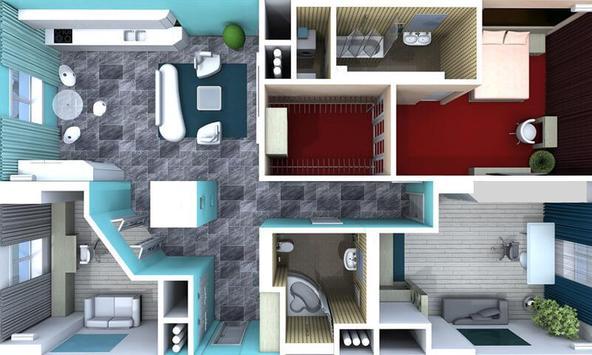 3D Home Design Layouts screenshot 3