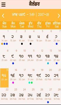 Nanakshahi Calendar Sanmat 550 (2018 - 2019) screenshot 7