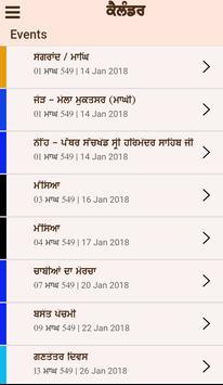 Nanakshahi Calendar Sanmat 550 (2018 - 2019) screenshot 2