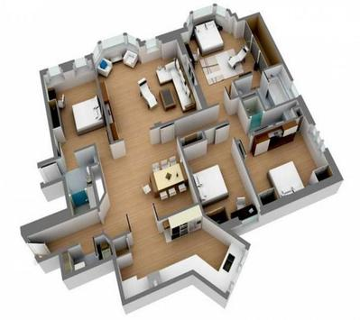 3D Home Floor poster