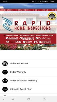 Rapid Home Inspections poster